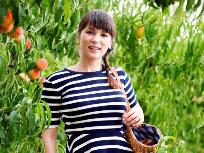 Rachel Khoo in a scene from Rachel Khoo's Kitchen Notebook Melbourne.