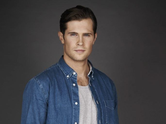 David Berry stars as James Bligh in the TV series A Place To Call Home.