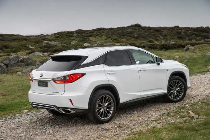 2016 Lexus RX SUV. Photo: Contributed.