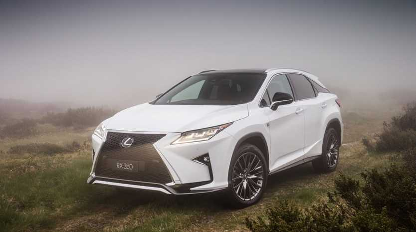 LOOKIN' SHARP: Lexus hasn't held back with the RX's exterior design, giving shoppers a striking alternative in the mid-size SUV segment