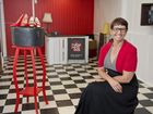 NEW SPACE: Nerida Tupas and Ruby Red Industies have moved into the old barber shop behind Bounce in Ruthven St. Thursday, Nov 26, 2015 . Photo Nev Madsen / The Chronicle