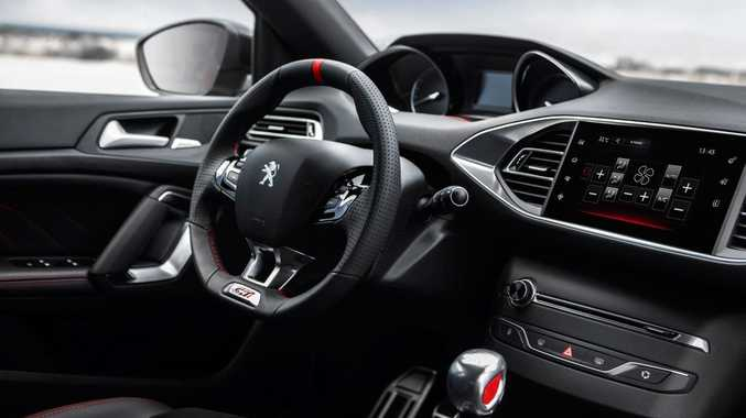2016 Peugeot 308 GTi. Photo: Contributed