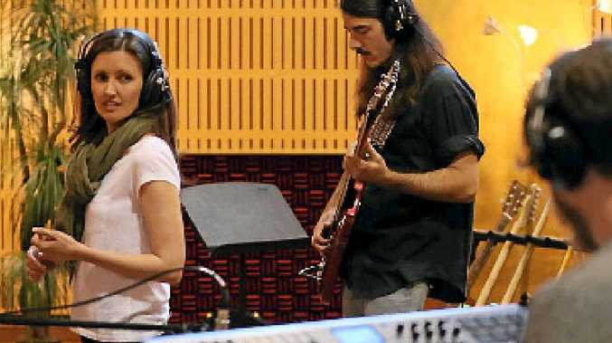 SPECIAL CONNECTION: Kate Leahy is recording from Germany while the rest of her band, newly named Little Mountain, will record from a studio in Yeppoon.