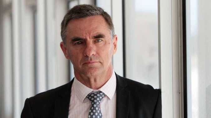 EPIDEMIC: Magistrate Colin Strofield in Yeppoon to talk at the White Ribbon lunch.