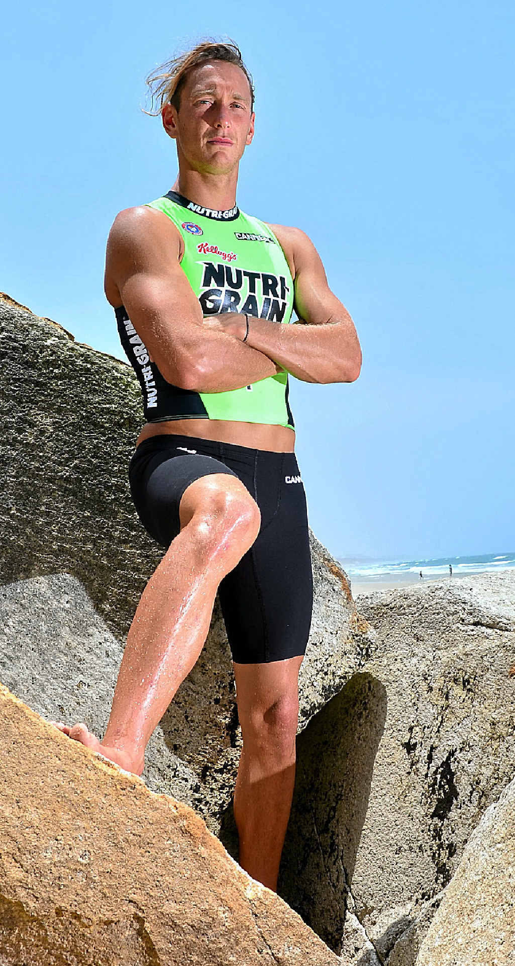 Ali Day is primed for this weekend's opening rounds of the Nutri-Grain Ironman Series at Coolum.