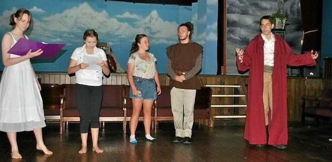 PANTO TIME: Travel in space with the Young Actors Studio's latest production.