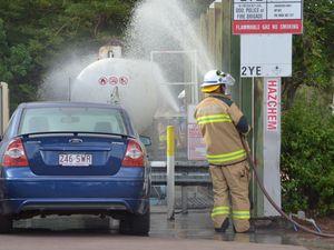Above average temperatures cause gas leak at BP