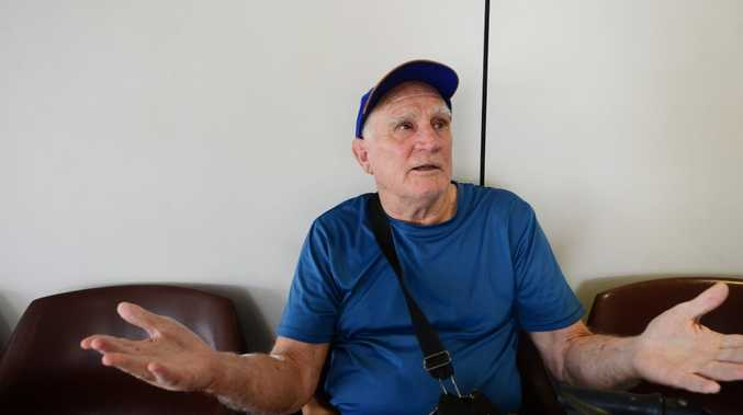 Vern Perry from Mount Morgan is asking for better service in getting to and from hospital for Mt Morgan, a regular trip he has to make for his renal treatment. Photo Sharyn O'Neill / Morning Bulletin