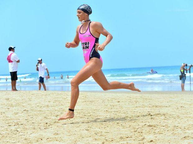 Jordan Mercer in action from Round 1 Nutri-Grain Ironman series at Coolum. Photo: John McCutcheon / Sunshine Coast Daily