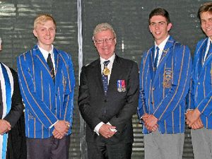 Grammar boys celebrate wins with annual Speech Day