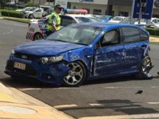 KINGAROY CRASH: A male driver crashed into the wall of IGA on the corners of Kingaroy and Avoca Sts.