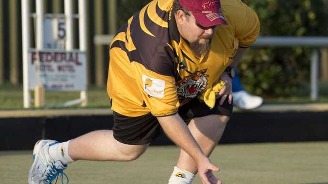 ON THE MAT: South Toowoomba's Trevor Briese.