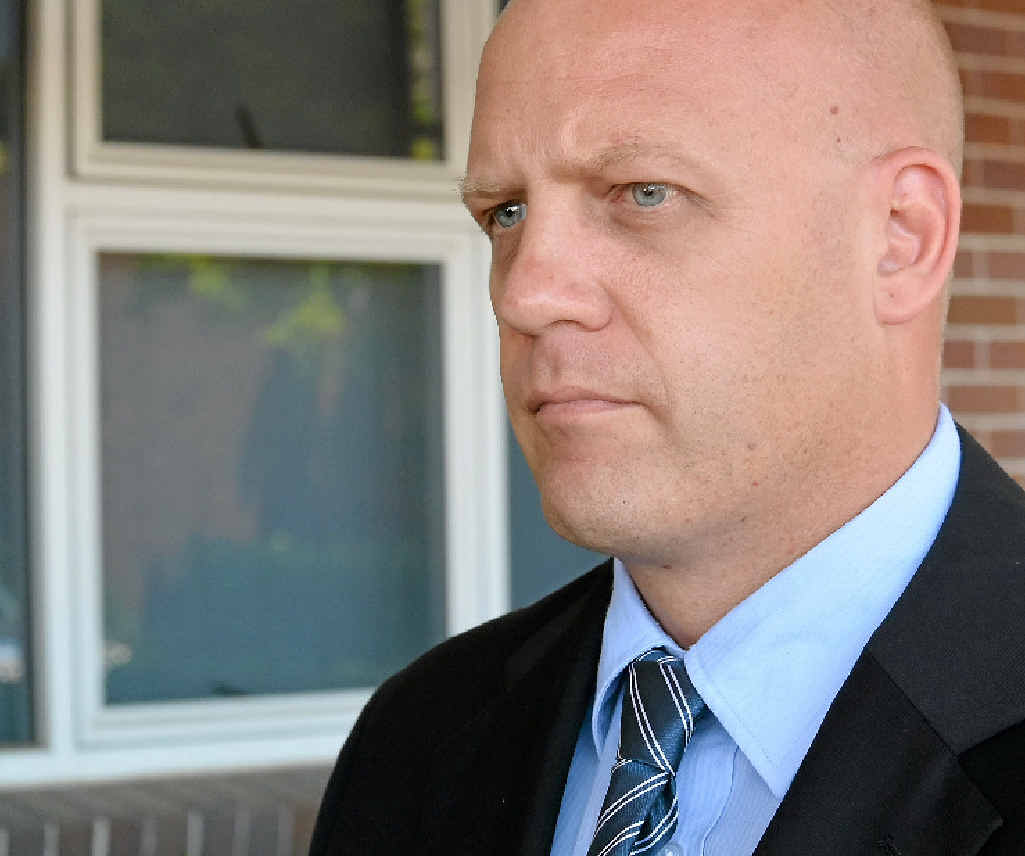 PLEA: Detective Inspector David Briese.