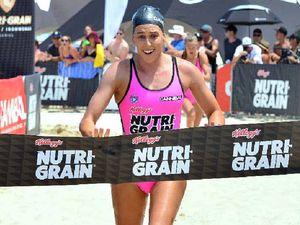 Noosa ironwoman Kirsty Higgison takes first round