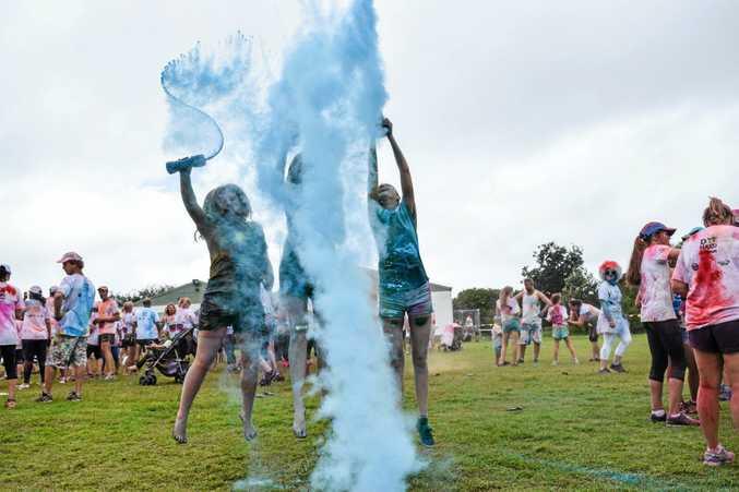 Dye Hard Fun Run 2015, Coffs Harbour.