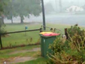Wild storm hits Yarraman