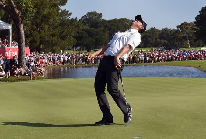 Matt Jones clinches the title. Photo: AAP Image.