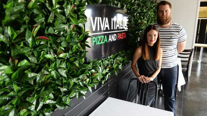 VIVA ITALIA: New owner Sarah Martin and her partner Michael Emerick have just re-opened the restaurant. They have big plans for it including an antipasto caf area where they will also sell all their own produce from their farm. Photo: Mike Knott / NewsMail