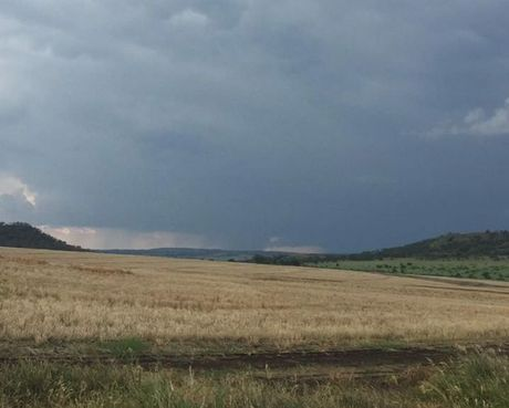 The only photographic evidence that a tornado formed near Toowoomba is this photo by Allie Smith.