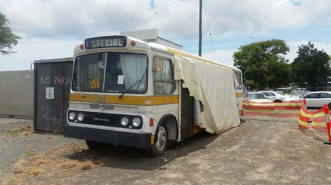 This white Bedford bus might need some work, but it has plenty of potential and will surely go for a steal. Photo: Contributed