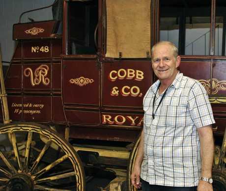 Cobb+Co Museum Curator Jeff Powell
