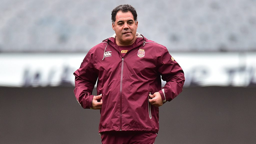 Queensland state of Origin coach Mal Meninga. Photo: AAP Image/Julian Smith.