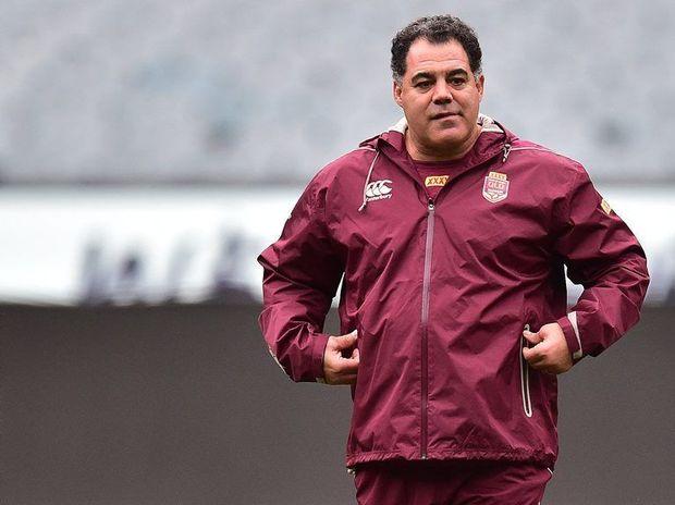Queensland state of Origin coach Mal Meninga. Photo: AAP Image/Julian Smith.