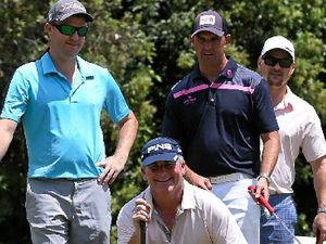 Teams chase Wolston Park in scramble at Twin Waters