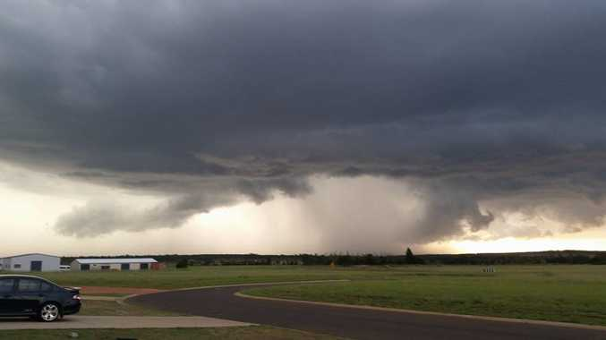 Joanne N Eddie Huntley‎ posted this photo to the Higgins Storm Chasing Facebook page from Kingaroy.