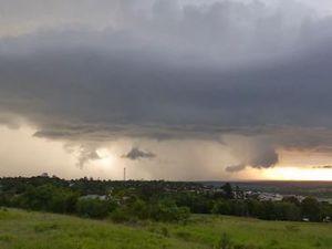 Supercell storm hits Kingaroy