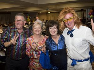 Sponsors dinner theme inspires funky outfits