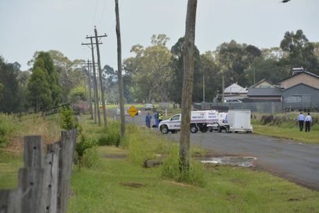 Police are investigating a hit and run incident in Oakey. Photo Tara Miko / The Chronicle