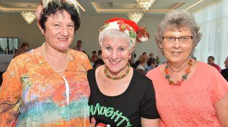 rigitte Zimmermann, Marie Williams and Joy Muller at the Mackay Base Hospital.