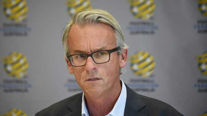 Football Federation Australia chief executive David Gallop. Photo: AFP PHOTO / Peter PARKS