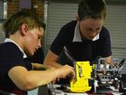 Students and their robots head for Sydney