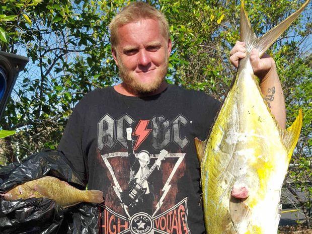 GONE FISHING: Daniel Wickham loved to fish.