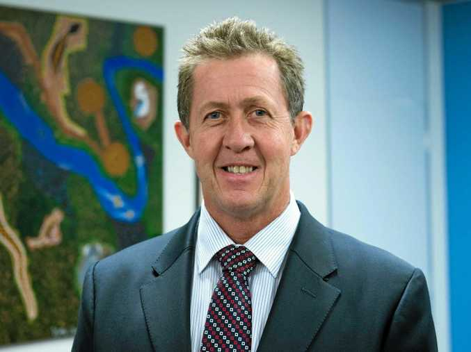 Federal member for Cowper and Minister for Vocational Education and Skills Luke Hartsuyker.