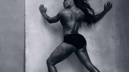 Serena Williams, appearing in the 2016 Pirelli calendar.