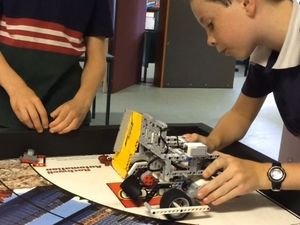 Holy Family Catholic Primary School students get robotic