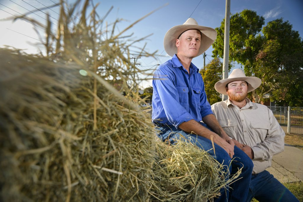 Gene Anderson and Brad Peacock have helped bring together 50 utes to show towns out west, suffering from drought, that the community supports them.