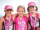 Jemma Hynes, 9, Mia Mcevoy, 8 and Paige Hynes, 9.