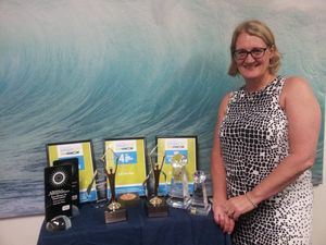 Byron woman wins big at international awards in New York