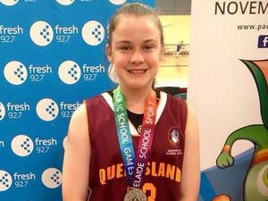 Charlotte's silver reward at Pacific School Games