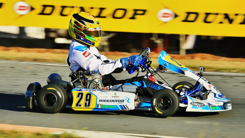Troy Loeskow will compete in the Asia-Pacific karting series in Macau.