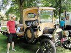 Historic vehicle club rolls in to big Yarra Glen crowd