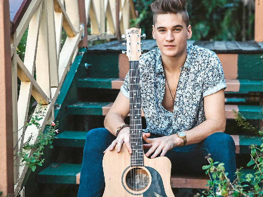 MAKING WAVES: Mackay musician Will Anderson has won $1000 as People's Choice award winner of the 2015 Telstra Road to Discovery.