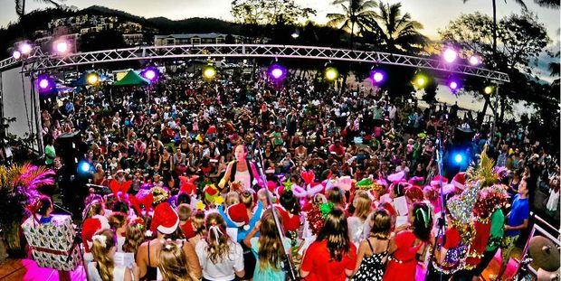 MERRY CHRISTMAS: The festive season will kick off on Sunday with Rotary's Carols by the Beach.