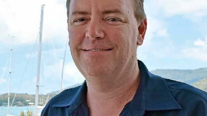 NEW FACE: Troy Jones is the new general manager at the Whitsunday Sailing Club.