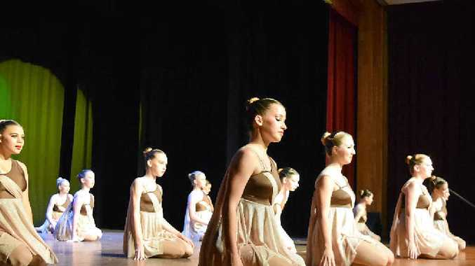 JOURNEY THROUGH TIME: Whitsunday Dance Connection students perform at their end-of-year concert. Photo: Kathryn Cygan