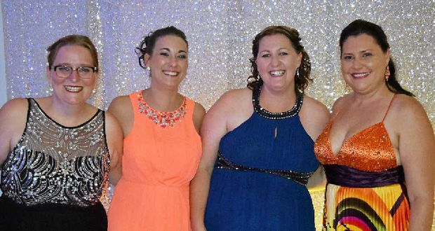 CHARITY BALL: Committee members Kylie Tame, Jodie Talbot, Nikki Soden and Juanita Lawn.